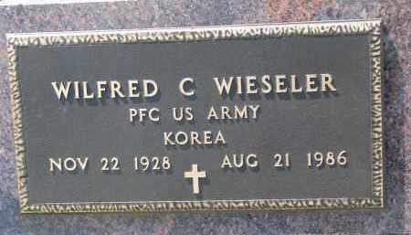 WIESELER, WILFRED C. - Cedar County, Nebraska | WILFRED C. WIESELER - Nebraska Gravestone Photos