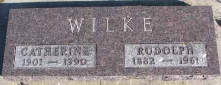 WILKE, CATHERINE - Cedar County, Nebraska | CATHERINE WILKE - Nebraska Gravestone Photos
