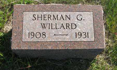 WILLARD, SHERMAN G. - Cedar County, Nebraska | SHERMAN G. WILLARD - Nebraska Gravestone Photos