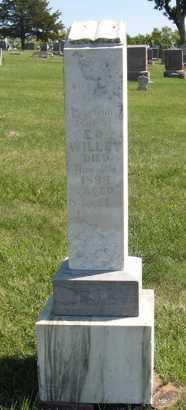 WILLEY, ELIZEBATH J. - Cedar County, Nebraska | ELIZEBATH J. WILLEY - Nebraska Gravestone Photos