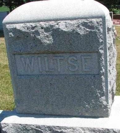 WILTSE, PLOT - Cedar County, Nebraska | PLOT WILTSE - Nebraska Gravestone Photos