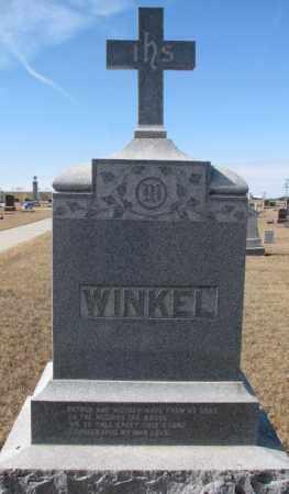 WINKEL, PLOT - Cedar County, Nebraska | PLOT WINKEL - Nebraska Gravestone Photos