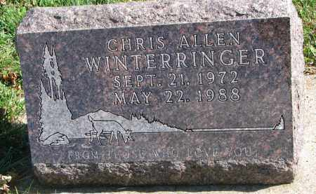 WINTERRINGER, CHRIS ALLEN - Cedar County, Nebraska | CHRIS ALLEN WINTERRINGER - Nebraska Gravestone Photos