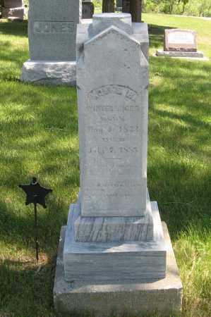 WINTERRINGER, MOSES B. - Cedar County, Nebraska | MOSES B. WINTERRINGER - Nebraska Gravestone Photos