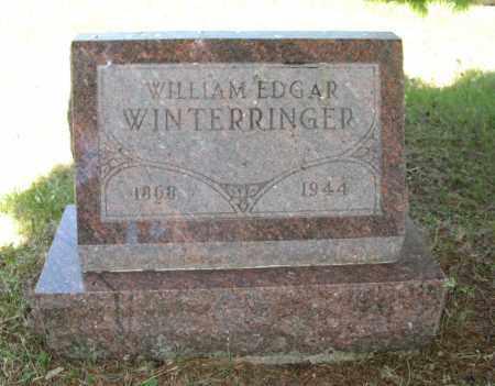 WINTERRINGER, WILLIAM EDGAR - Cedar County, Nebraska | WILLIAM EDGAR WINTERRINGER - Nebraska Gravestone Photos