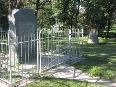 *WISEMAN MASSACRE, OVERVIEW - Cedar County, Nebraska | OVERVIEW *WISEMAN MASSACRE - Nebraska Gravestone Photos