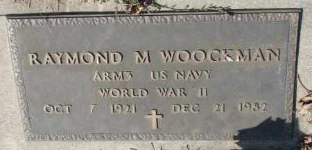 WOOCKMAN, RAYMOND M. (WW II) - Cedar County, Nebraska | RAYMOND M. (WW II) WOOCKMAN - Nebraska Gravestone Photos