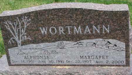 WORTMANN, MARGARET - Cedar County, Nebraska | MARGARET WORTMANN - Nebraska Gravestone Photos