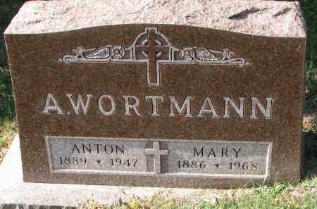 WORTMANN, ANTON - Cedar County, Nebraska | ANTON WORTMANN - Nebraska Gravestone Photos