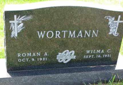 WORTMANN, WILMA C. - Cedar County, Nebraska | WILMA C. WORTMANN - Nebraska Gravestone Photos