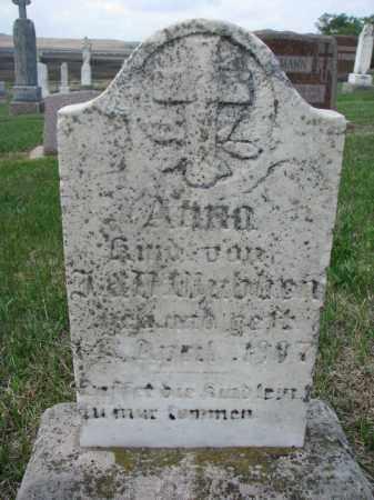 WUEBBEN, ANNA - Cedar County, Nebraska | ANNA WUEBBEN - Nebraska Gravestone Photos