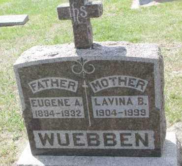 WUEBBEN, EUGENE A. - Cedar County, Nebraska | EUGENE A. WUEBBEN - Nebraska Gravestone Photos
