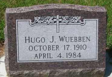 WUEBBEN, HUGO J. - Cedar County, Nebraska | HUGO J. WUEBBEN - Nebraska Gravestone Photos