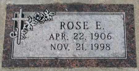 WUEBBEN, ROSE E. - Cedar County, Nebraska | ROSE E. WUEBBEN - Nebraska Gravestone Photos