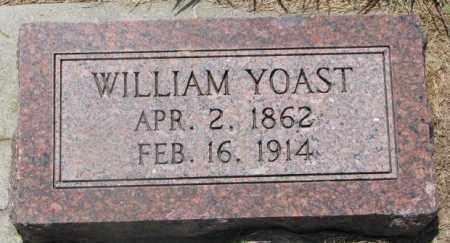 YOAST, WILLIAM - Cedar County, Nebraska | WILLIAM YOAST - Nebraska Gravestone Photos