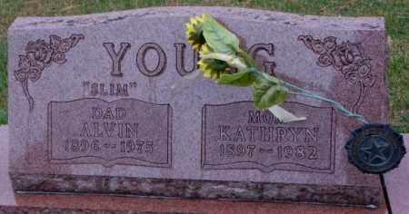 YOUNG, ALVIN - Cedar County, Nebraska | ALVIN YOUNG - Nebraska Gravestone Photos