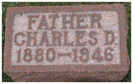 YOUNG, CHARLES D. - Cedar County, Nebraska | CHARLES D. YOUNG - Nebraska Gravestone Photos