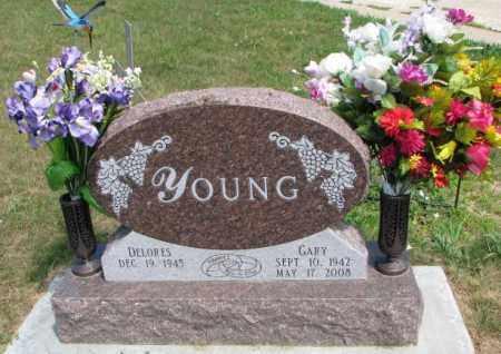 YOUNG, DELORES - Cedar County, Nebraska | DELORES YOUNG - Nebraska Gravestone Photos