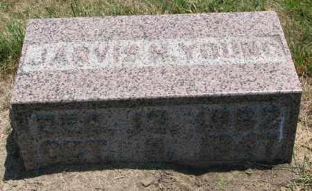 YOUNG, JARVIS H. - Cedar County, Nebraska | JARVIS H. YOUNG - Nebraska Gravestone Photos