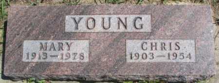 YOUNG, MARY - Cedar County, Nebraska | MARY YOUNG - Nebraska Gravestone Photos