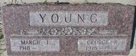 YOUNG, GEORGE R. - Cedar County, Nebraska | GEORGE R. YOUNG - Nebraska Gravestone Photos