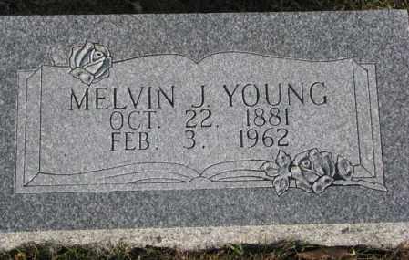 YOUNG, MELVIN J. - Cedar County, Nebraska | MELVIN J. YOUNG - Nebraska Gravestone Photos