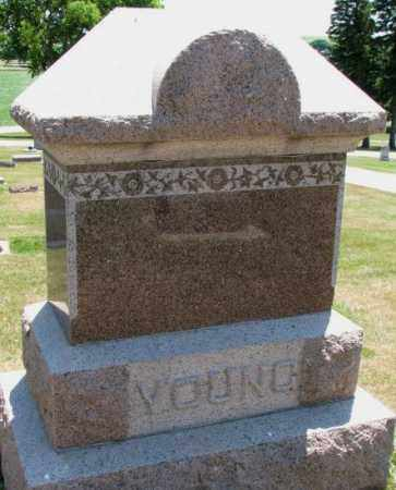 YOUNG, PLOT - Cedar County, Nebraska | PLOT YOUNG - Nebraska Gravestone Photos
