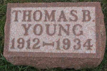YOUNG, THOMAS B. - Cedar County, Nebraska | THOMAS B. YOUNG - Nebraska Gravestone Photos