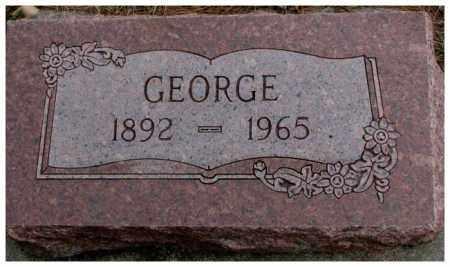 ZIMMERMAN, GEORGE - Cedar County, Nebraska | GEORGE ZIMMERMAN - Nebraska Gravestone Photos