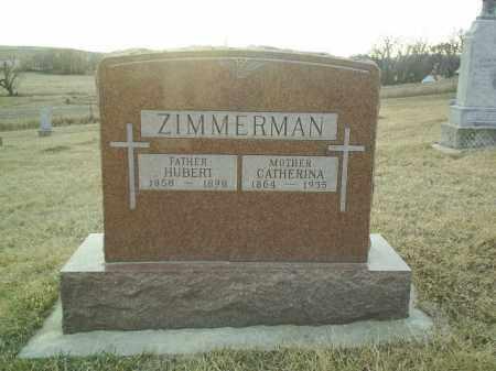 ZIMMERMAN, CATHERINA - Cedar County, Nebraska | CATHERINA ZIMMERMAN - Nebraska Gravestone Photos