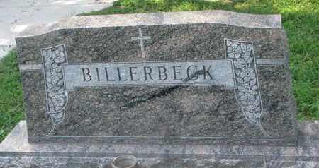 BILLERBECK, FAMILY STONE - Cedar County, Nebraska | FAMILY STONE BILLERBECK - Nebraska Gravestone Photos