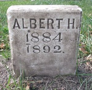 KRAUSE, ALBERT H. - Cedar County, Nebraska | ALBERT H. KRAUSE - Nebraska Gravestone Photos