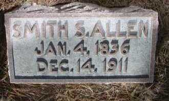 ALLEN, SMITH S. - Chase County, Nebraska | SMITH S. ALLEN - Nebraska Gravestone Photos