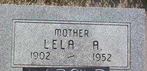 BARNES, LELA A. - Chase County, Nebraska | LELA A. BARNES - Nebraska Gravestone Photos