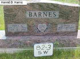 BARNES, LUTHER CHARLES - Chase County, Nebraska | LUTHER CHARLES BARNES - Nebraska Gravestone Photos