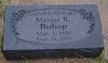 BISHOP, MAXINE REGINA - Chase County, Nebraska   MAXINE REGINA BISHOP - Nebraska Gravestone Photos