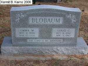 BLOBAUM, LOIS CARL - Chase County, Nebraska | LOIS CARL BLOBAUM - Nebraska Gravestone Photos