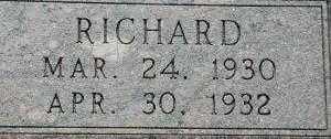 BRABHAM, RICHARD D. - Chase County, Nebraska | RICHARD D. BRABHAM - Nebraska Gravestone Photos