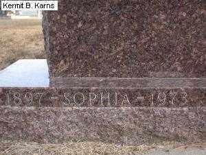 BRUNKHORST, SOPHIA MINNIE - Chase County, Nebraska | SOPHIA MINNIE BRUNKHORST - Nebraska Gravestone Photos