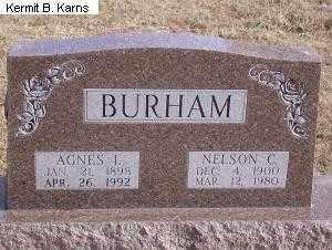 BURHAM, NELSON CORNETT - Chase County, Nebraska | NELSON CORNETT BURHAM - Nebraska Gravestone Photos