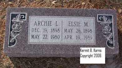 COUNCE, ARCHIE L. - Chase County, Nebraska | ARCHIE L. COUNCE - Nebraska Gravestone Photos