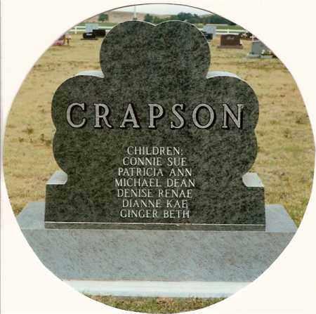 CRAPSON, G.B. 'JIGGS' - Chase County, Nebraska | G.B. 'JIGGS' CRAPSON - Nebraska Gravestone Photos