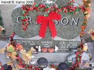 CRAPSON, PATRICIA LOUISE - Chase County, Nebraska | PATRICIA LOUISE CRAPSON - Nebraska Gravestone Photos