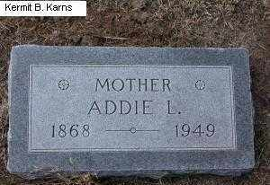 DART, ADDIE LOUISE - Chase County, Nebraska | ADDIE LOUISE DART - Nebraska Gravestone Photos
