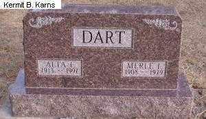 DART, MERLE LEONARD - Chase County, Nebraska   MERLE LEONARD DART - Nebraska Gravestone Photos