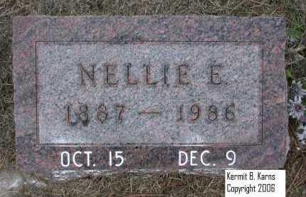 FRAZELL DE HART, NELLIE E. - Chase County, Nebraska | NELLIE E. FRAZELL DE HART - Nebraska Gravestone Photos