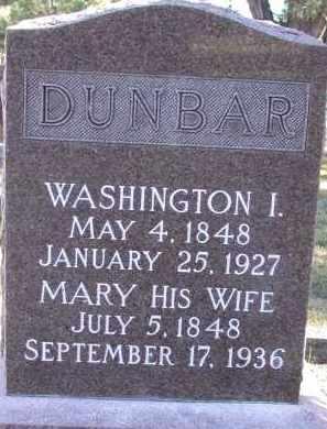 KILE DUNBAR, MARY - Chase County, Nebraska   MARY KILE DUNBAR - Nebraska Gravestone Photos