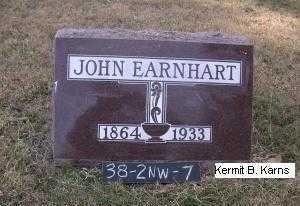 EARNHART, JOHN - Chase County, Nebraska | JOHN EARNHART - Nebraska Gravestone Photos