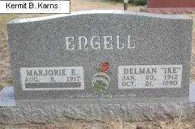 GREGORY ENGELL, MARJORIE E. - Chase County, Nebraska | MARJORIE E. GREGORY ENGELL - Nebraska Gravestone Photos