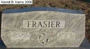OLIVER FRASIER, LELA MAE - Chase County, Nebraska | LELA MAE OLIVER FRASIER - Nebraska Gravestone Photos